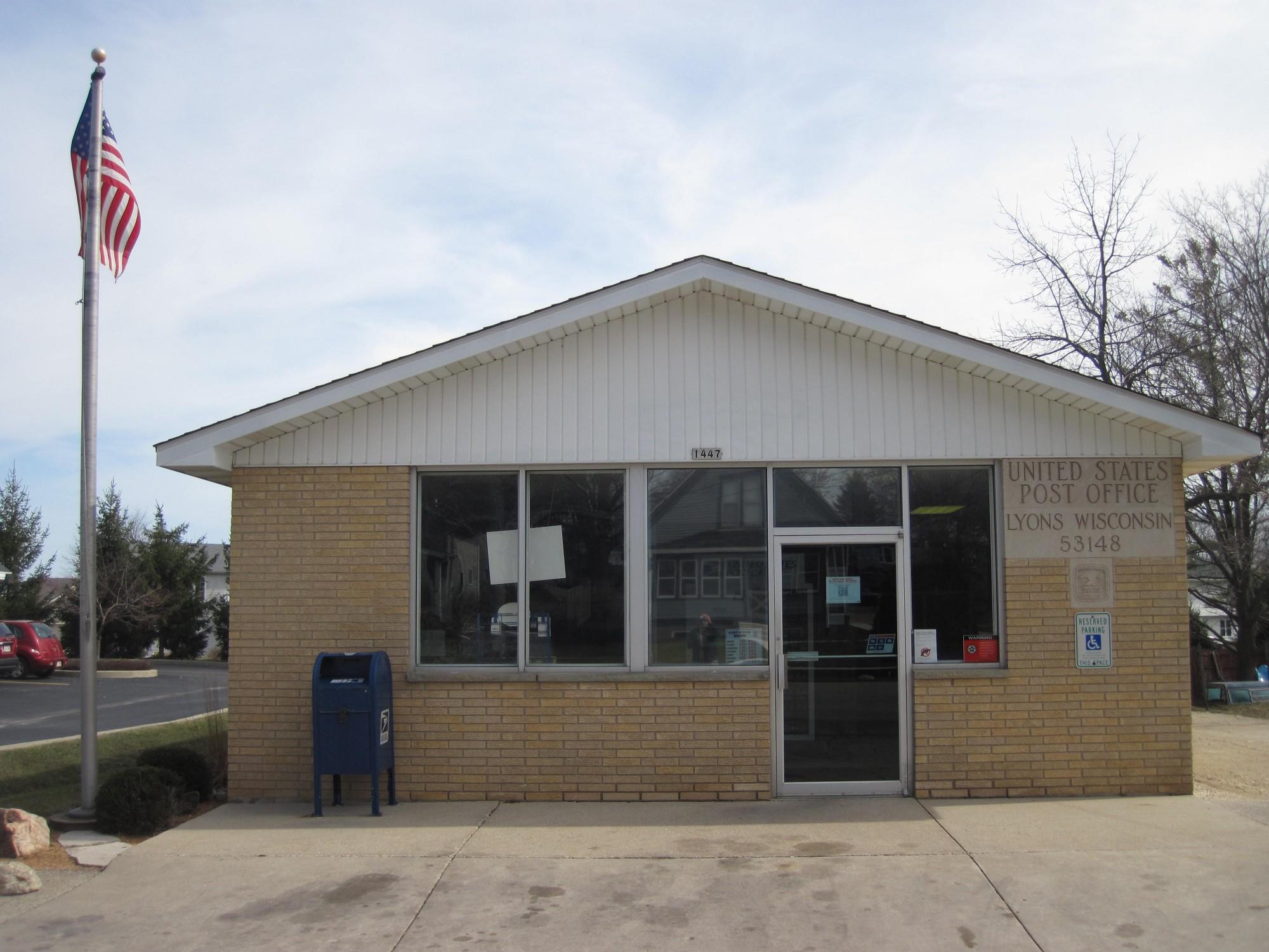Trempealeau Wisconsin Post Office — Post Office Fans