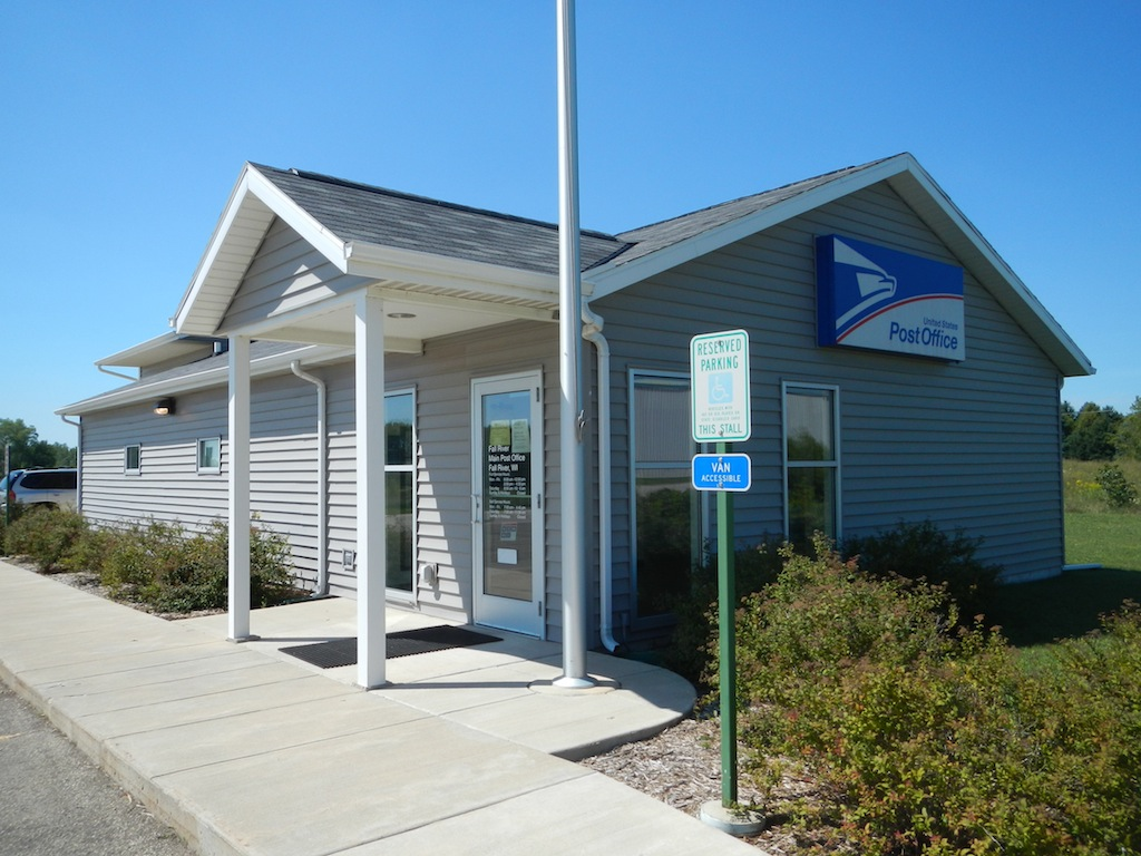 Fall River WI Post Office 8 — Post Office Fans