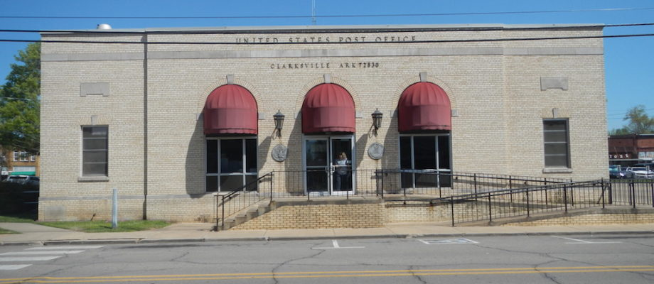 Clarksville Arkansas Post Office