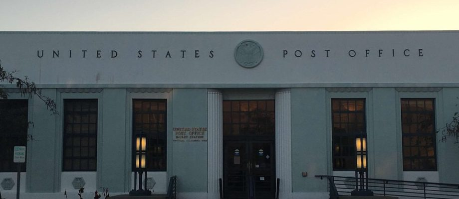 Whittier California Post Office – Bailey